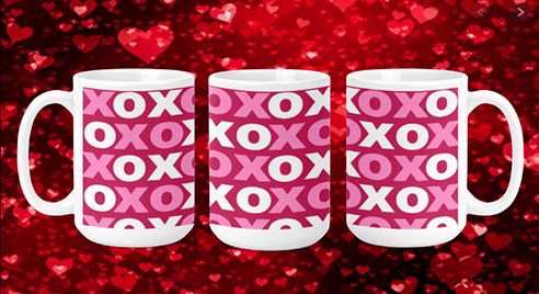 XoXo 15oz Valentine Mug