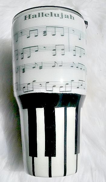 Music Custom Tumbler