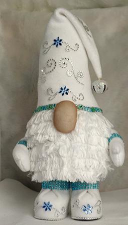 Snow McFluff Christmas Gnome