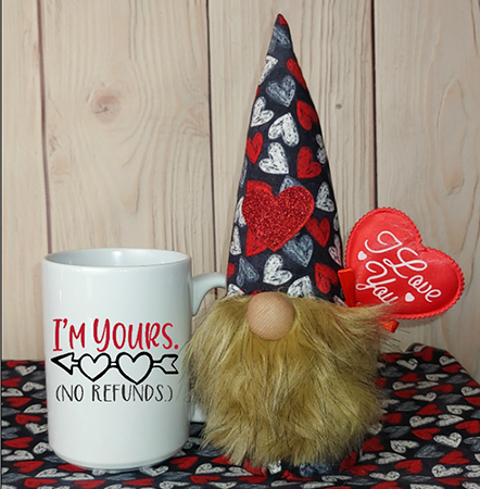 I'm Yours No Refunds Gnome In A Mug