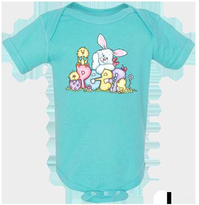 Peep Bunny Infant Onesie