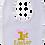 Thumbnail: 1st Easter Glitter Girl Bib