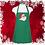 "Thumbnail: Santa Face 24"" 3 Pocket Apron"