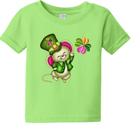 Irish Mouse Infant/Toddler Tee