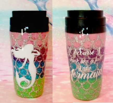 I'm A Mermaid Custom Tumbler