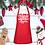 "Thumbnail: Christmas Baking Queen 24"" 3 Pocket Apron"