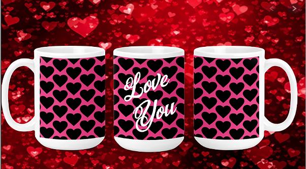 Love You 15oz Valentine Mug