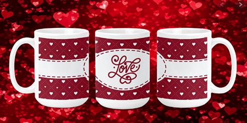Love II 15oz Valentine Mug