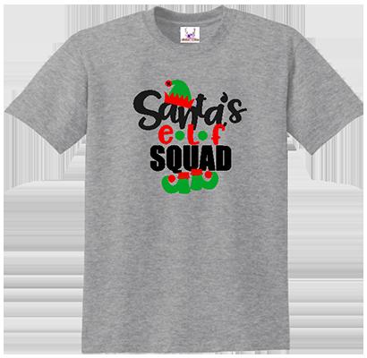 Santa's Elf Squad Men's Tee