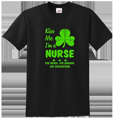 Kiss Me I'm A Nurse Tee