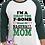 Thumbnail: F Bomb Baseball Mom Raglan