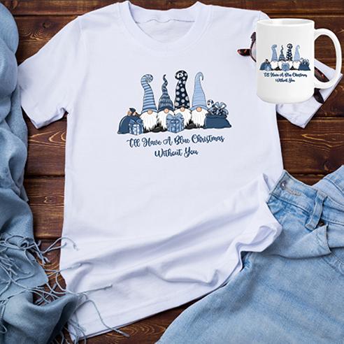 I'll Have A Blue Christmas Tee