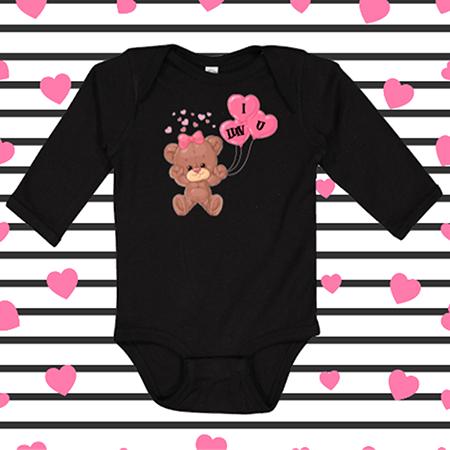 Love U Bear Onesie or Toddler Tee