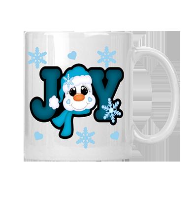 Joy Snowman Mug