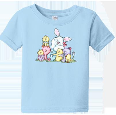 Peep Bunny Infant/Toddler Tee