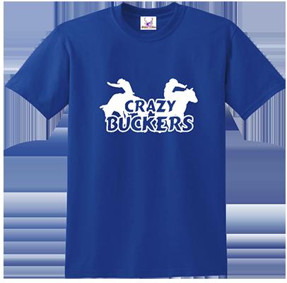 Crazy Buckers Tee