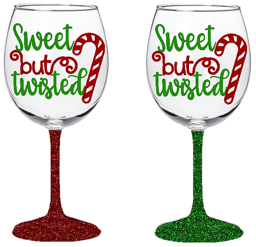 20oz Sweet But Twisted Wine Glass