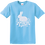 Thumbnail: Glitter Bunny Silhouette Tshirt