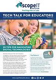 Tech Talk For Principals Edition 20