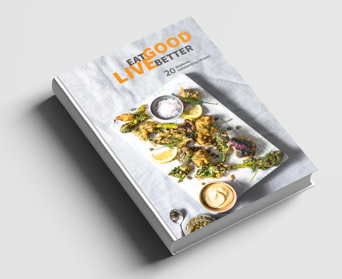 culinary book design