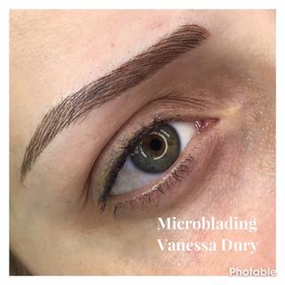 microblanding, make up, vanessa dury, beauty derm