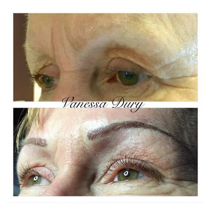 make up , vanessa dury ,beauty derm