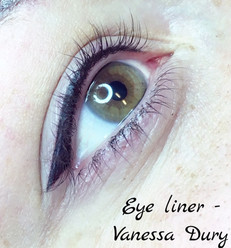eye liner , make up, vanessa dury , beauty derm
