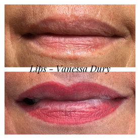 lips , vanessa dury, beauty derm, make up