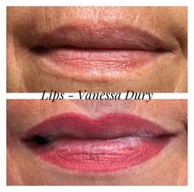 lips , vanessa dury, beauty derm, make up