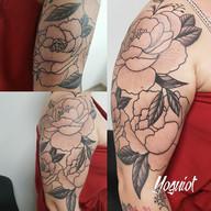 taouage florale, tatouage fleur, yoguiot