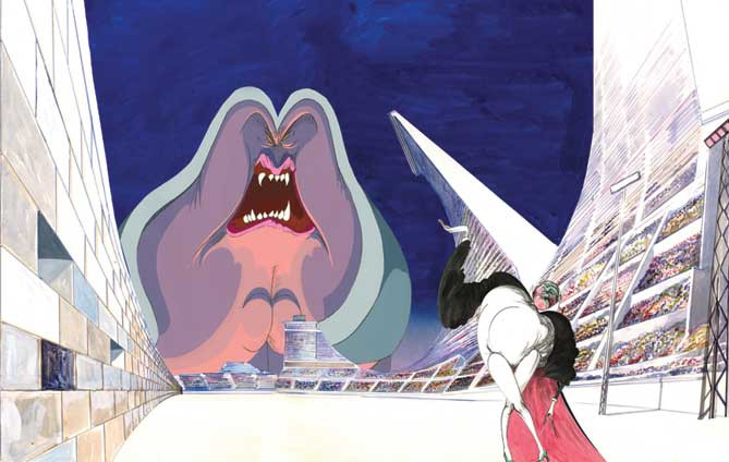 Gerald Scarfe, The Wall