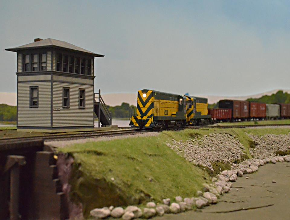 Pair of CNW Switchers Coming Out of Madison