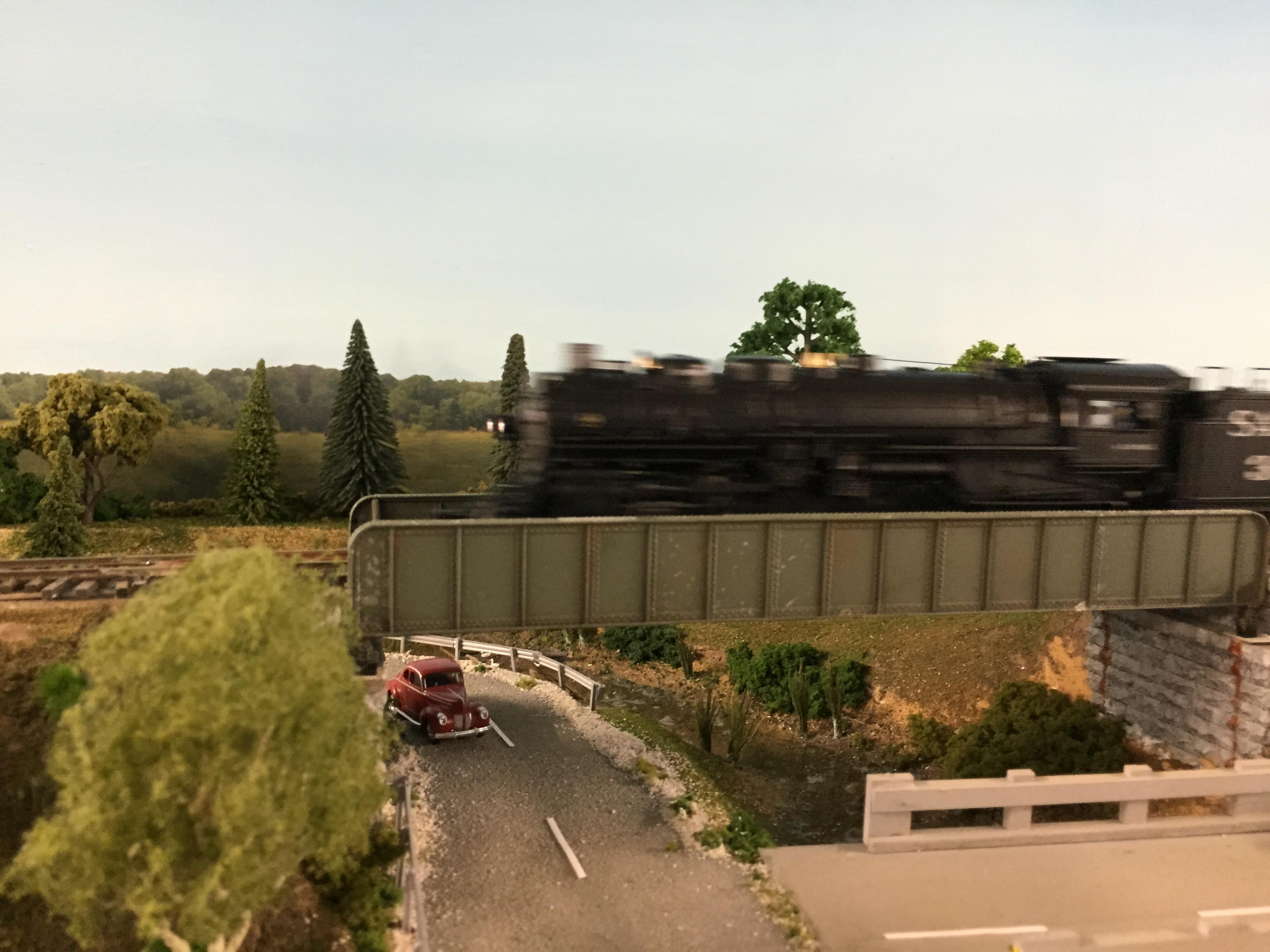 Steam Crossing A Stream