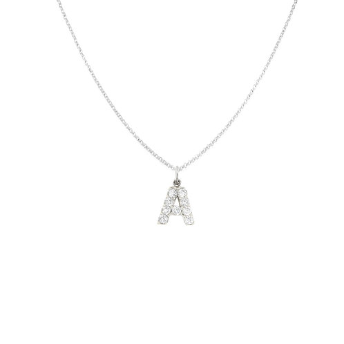 Mini Diamond Initial Charm