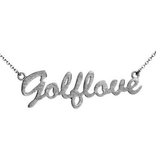 Golf Love Necklace
