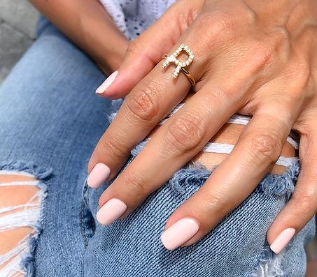hand rig initial diamond manicure