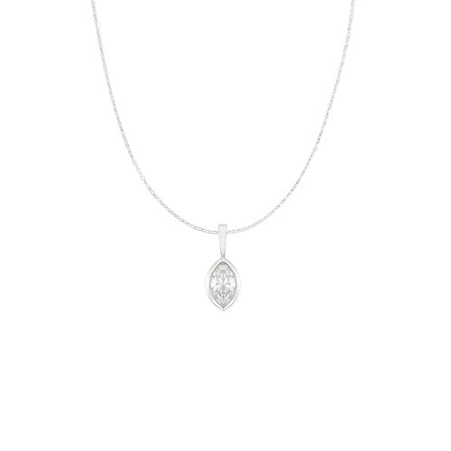 Marquise Diamond Bezel Charm