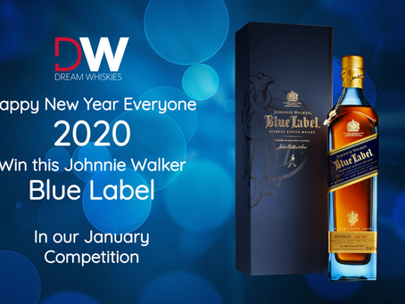 WIN this Johnnie Walker Blue Label - Last competition before our big February change!