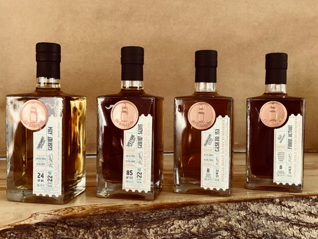 4 Amazing Limited Edition, Cask Strength Single Malts? Win them for FREE!