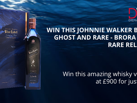 Start 2021 by winning the magnificent Johnnie Walker Blue Label, Ghost and Rare - Brora