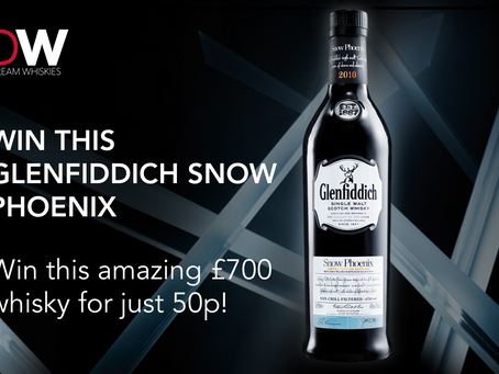 Win this amazing Glenfiddich Snow Phoenix in Dream Whiskies' latest competition