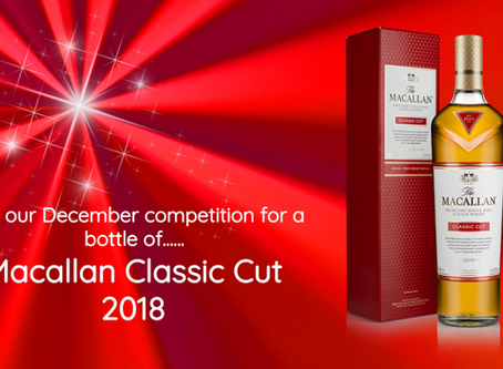 Want this Macallan Classic Cut 2018 to end the year? Read on...