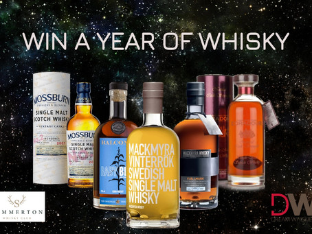 Win a Year of Whisky....