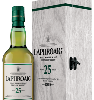 In to 2019 with a 25 year-old Laphroaig