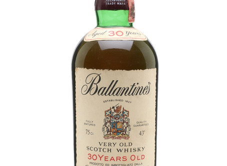 A Ballantine's distilled in the 1940's!
