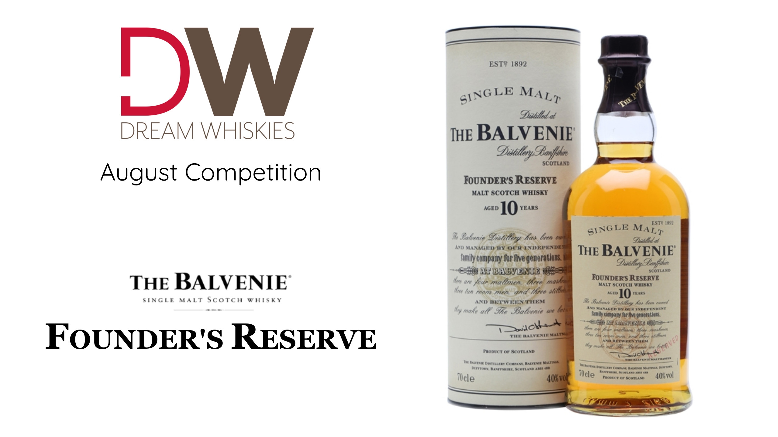 Dream Whiskies | Win Your Dream Whisky for FREE