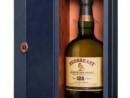 Redbreast Irish Whiskey gets the key to the door: 21 Year-Old