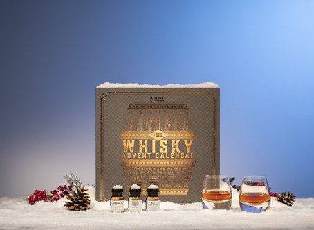 Win 24 Whiskies for Christmas! The ultimate whisky lover's Christmas prize.