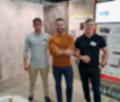 Stefan Sacilotto, Darren Palmer, Trent Sacilotto
