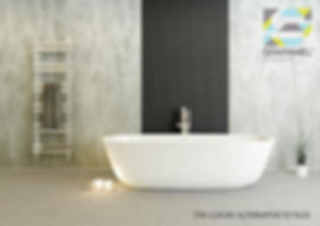 Spapanel, the grout free alternatie to tiles